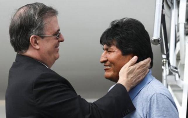 Bu ölkə Moralesə siyasi sığınacaq verdi