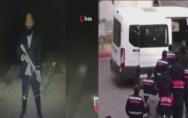 Ankarada terrora hazırlaşan 9 şübhəli tutuldu