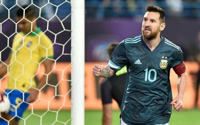 Argentina Braziliyaya qalib gəldi
