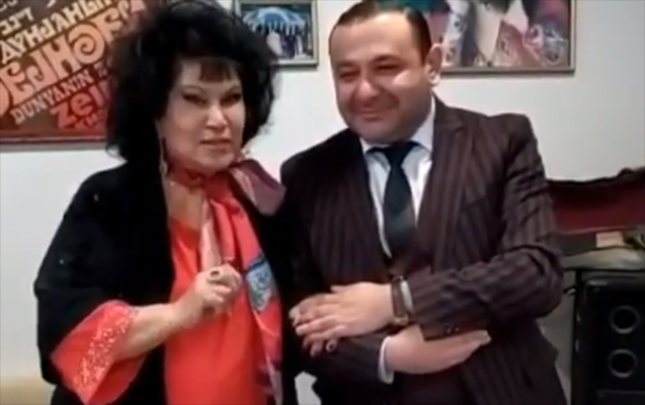82 yaşlı Zeynəb Xanlarovanın yeni görüntülərini paylaşdı