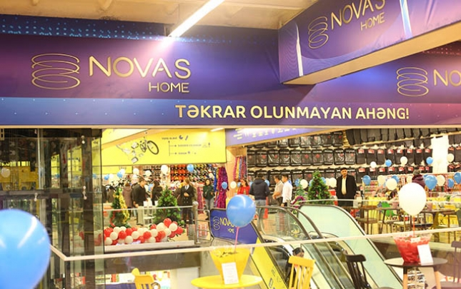 """Bakıda daha bir """"Novas Home"""" mağazası açıldı"""