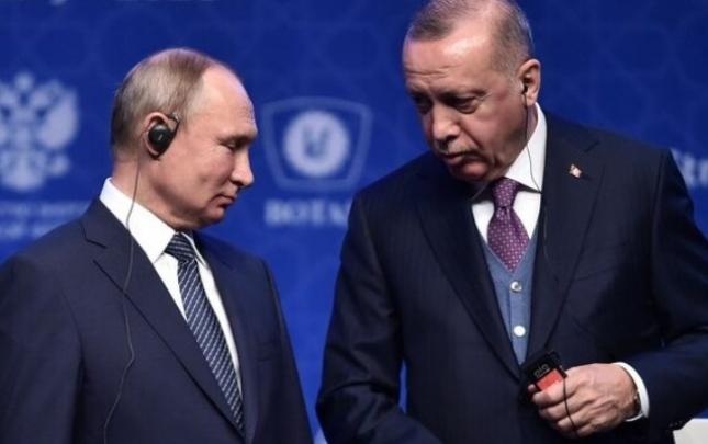 Türkiyə Prezidenti Putinlə görüşündən danışdı