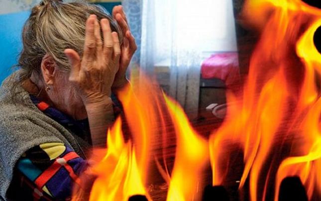 3 gün əvvəl yanan 92 yaşlı qadın dünyasını dəyişdi
