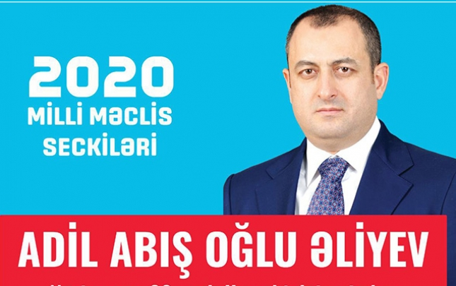 Adil Əliyev də seçki təşviqatı kampaniyasına başladı