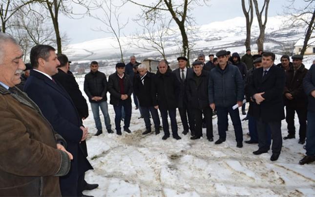 Malik Həsənov Cəlilabadda 3 kəndin sakinləri ilə görüşdü