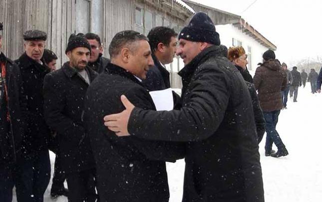 Babək Hüseynov da seçiciləri ilə görüşdü
