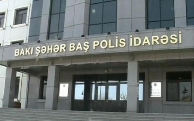 Bakı polisindən jurnalistlərə müraciət