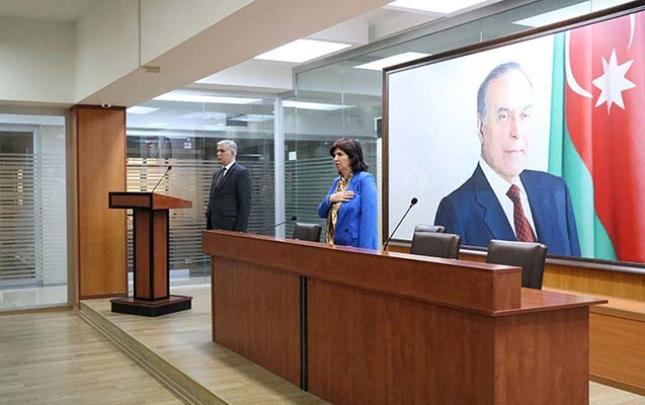 """Azərbaycan Universitetində """"Xocalı - zülmət bir gecə"""" filminin təqdimatı olub"""