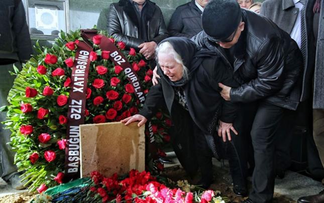 İsgəndər Həmidov dəfn edildi - Fotolar