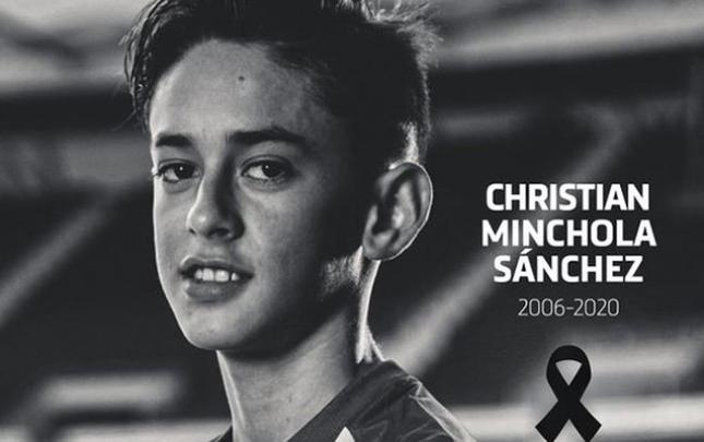 """""""Atletiko""""nun 14 yaşlı futbolçusu öldü"""