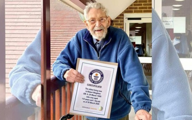 """Ən yaşlı kişi kimi """"Ginnnesin Rekordlar Kitabı""""na düşdü"""