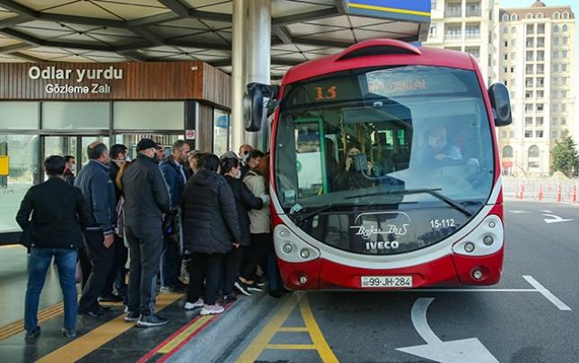 Metro bağlandı, avtobuslarda vəziyyət necədir?