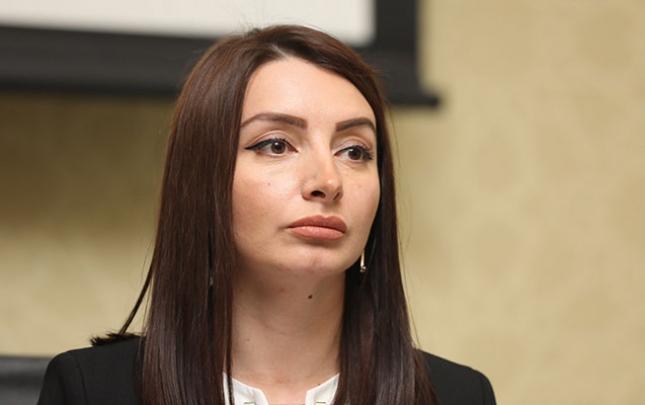 Leyla Abdullayeva Ermənistanın baş qərargah rəisinə cavab verdi