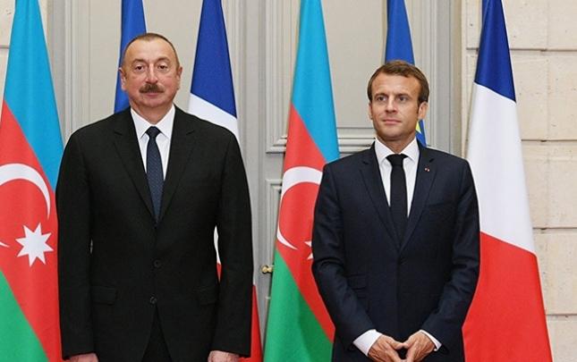 Makrondan Azərbaycan Prezidentinə təbrik