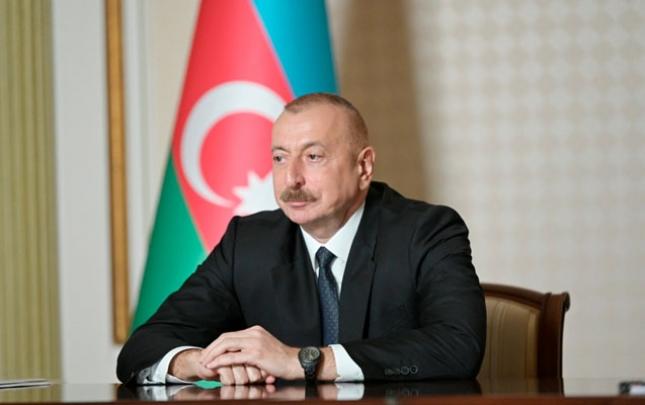 İlham Əliyev həmkarları ilə videokonfransa qatıldı