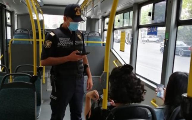 Bakıda maska ilə bağlı reydlərə başlanıldı