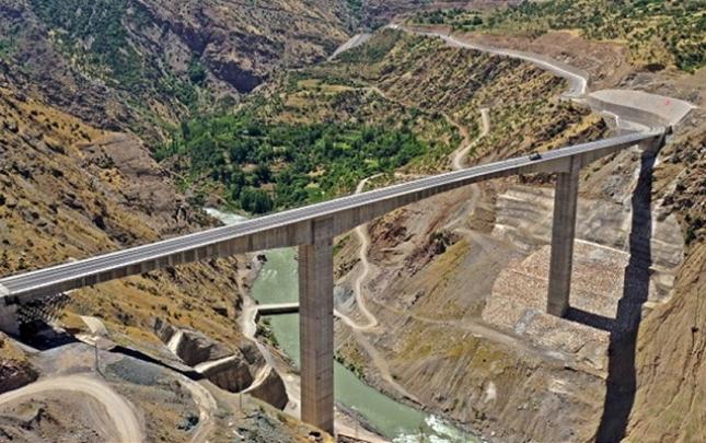 Türkiyədə ən hündür körpünün açılışı oldu
