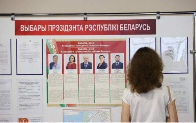Belarusda prezident seçkiləri baş tutub