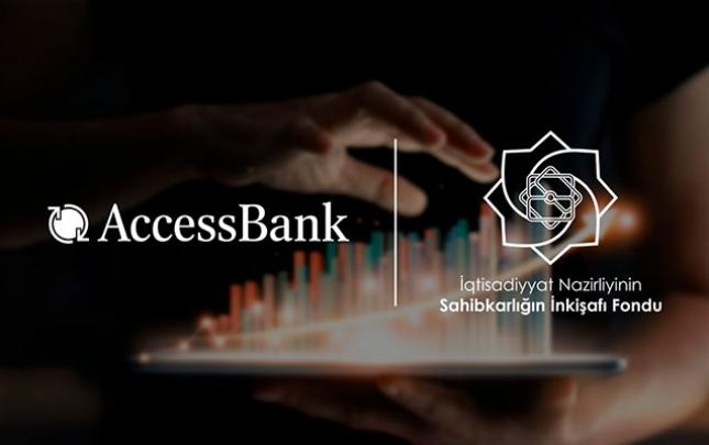"""""""AccessBank"""" pandemiyadan əziyyət çəkən sahibkarlara dəstək olacaq"""