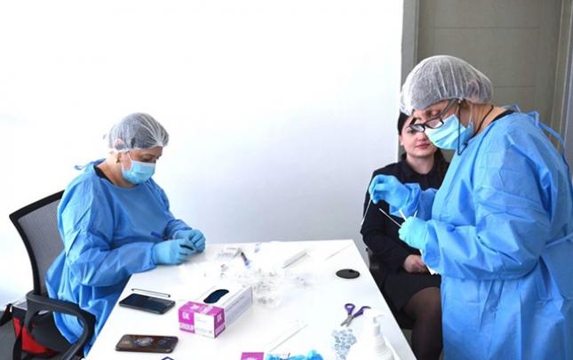 Gürcüstanda koronavirusa yoluxanların sayı 3 mini ötdü