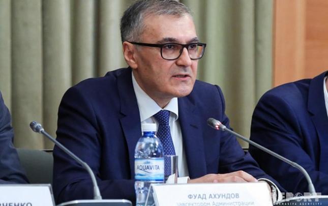 Fuad Axundov Qarabağla bağlı Rusiya kanalına danışdı