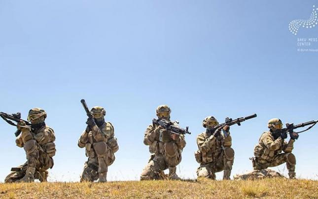 Ermənistan ordusunun mövqeləri darmadağın edildi