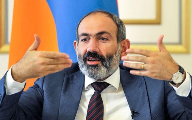 Paşinyan Ermənistanda daxili çəkişmələri dayandırmağa çağırdı
