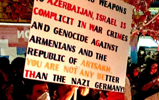 Ermənilərin bu şüarı ABŞ-da ciddi narazılıqla qarşılandı