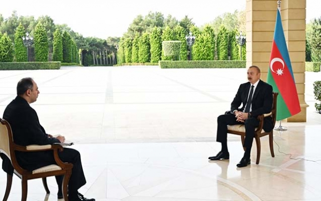 Prezident Rusiyanın İnterfaks agentliyinə müsahibə verdi