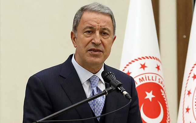 Türkiyə müdafiə nazirindən Ermənistana çağırış