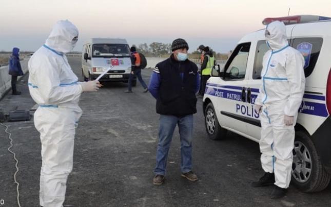 """Evi tərk edən 10-dan çox """"COVID-19"""" xəstəsi saxlanıldı"""