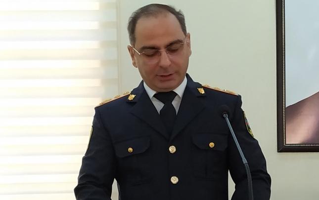 Gəncə Şəhər Baş Polis İdarəsinə yeni rəis təyin edildi