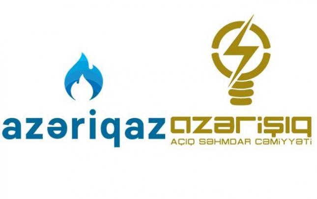 """""""Azərişıq"""" və """"Azəriqaz"""" memorandum imzaladı"""