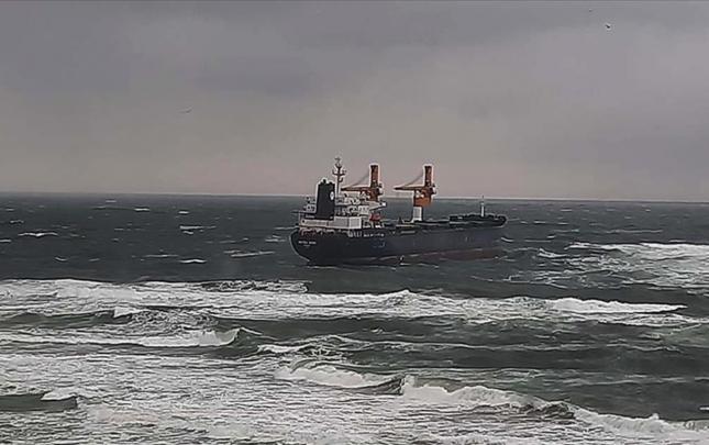 Türkiyədən Rusiyaya yola düşən gəmidə problem yarandı