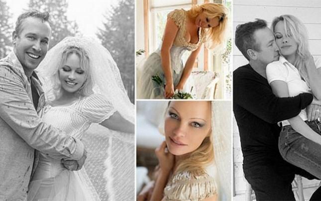 Pamela Anderson 6-cı dəfə ərə getdi