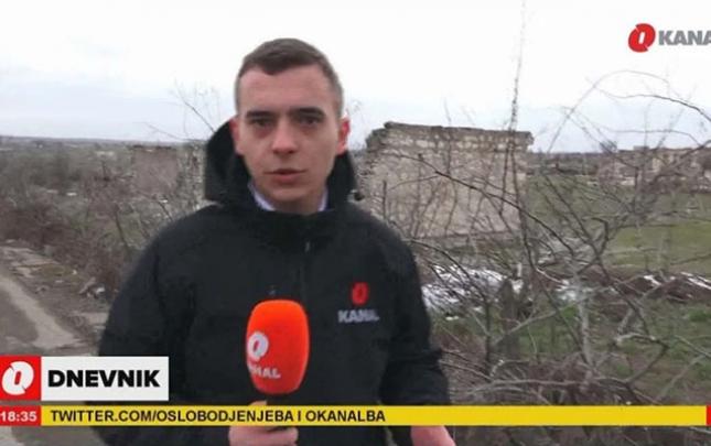 Bosniya kanalı Ağdamdan reportaj yayımladı