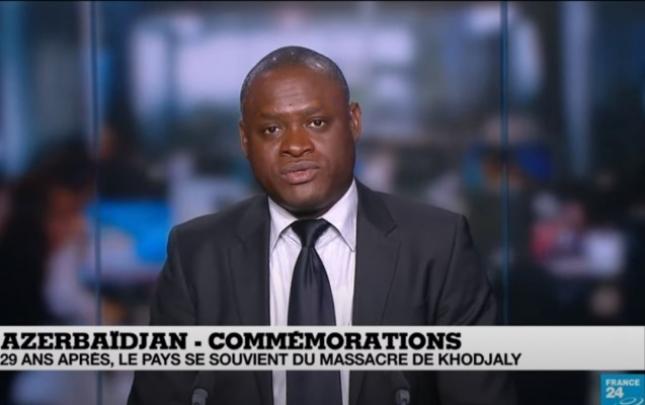 """""""France 24"""" kanalında Xocalı soyqırımı ilə bağlı veriliş yayımlanıb"""