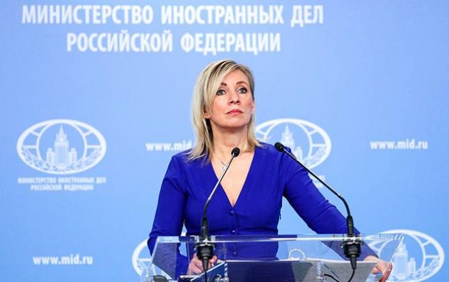 Zaxarovadan İranın yük maşınlarının saxlanmasına