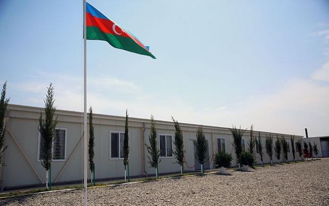 Azad olunmuş ərazilərdə 20 hərbi hissə istifadəyə verilib