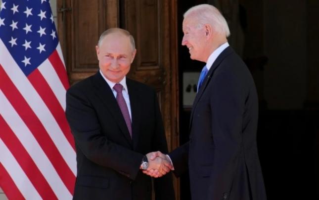 ABŞ hökuməti Baydenlə Putinin görüşünü konstruktiv hesab edir