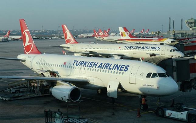 """""""Turkish Airlines"""" Rusiyaya uçuşları bərpa edir"""