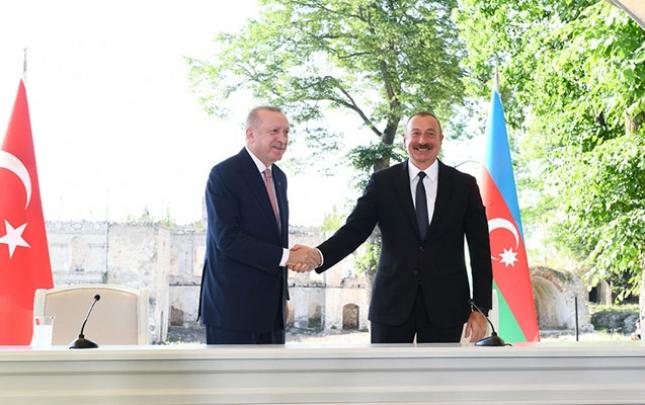 Ərdoğan Azərbaycanla imzalanacaq yeni müqavilələrin anonsunu verdi
