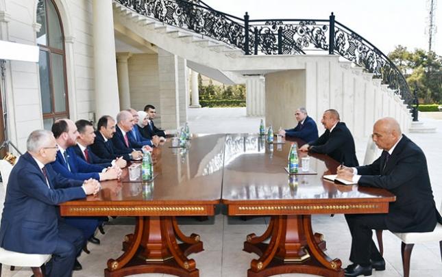 Prezident AKP sədrinin birinci müavinini qəbul etdi