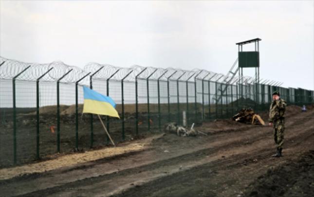 Ukrayna Rusiya ilə sərhədini gücləndirir