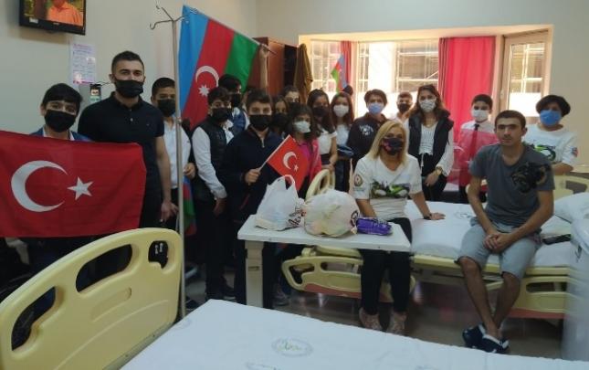 İstanbulda müalicə alan qazilərimiz ziyarət edildi