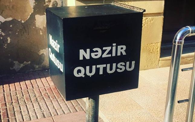 Nəzir qutusundan pul oğurlayan tutuldu