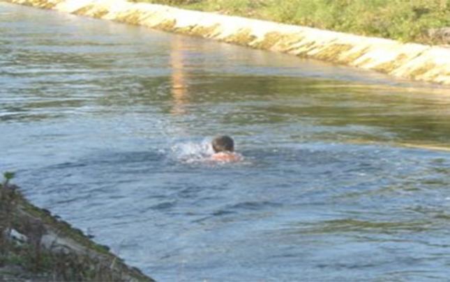 Kanalda batan gəncin meyiti tapıldı