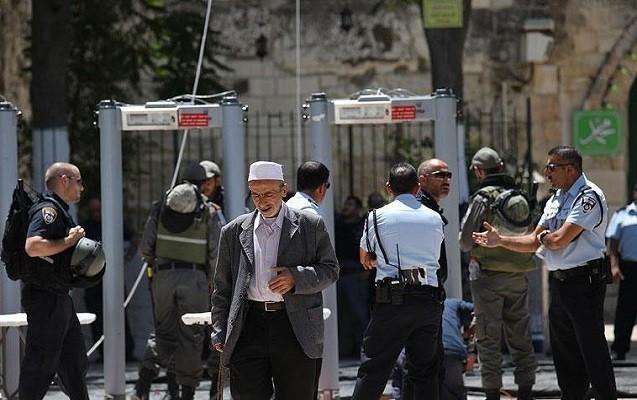 """""""Məscidi-Əqsa""""nın girişindəki metal detektorlar götürüldü"""