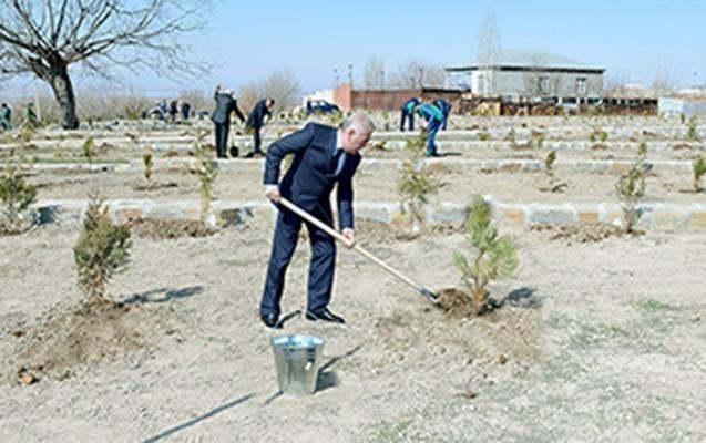 Vasif Talıbov iməclik keçirdi