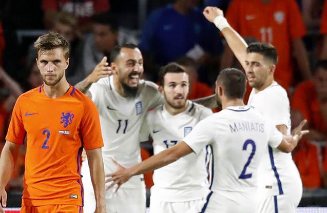Hollandiya İtaliya oyununda üç qol